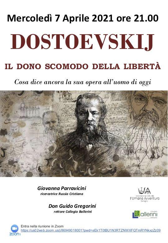 dostoevskij. il dono scomodo della libertà